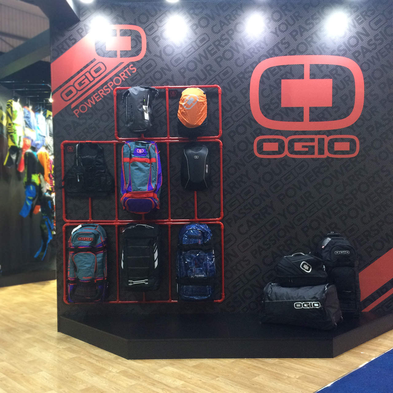 Dirt Bike Show UK - OGIO Stand