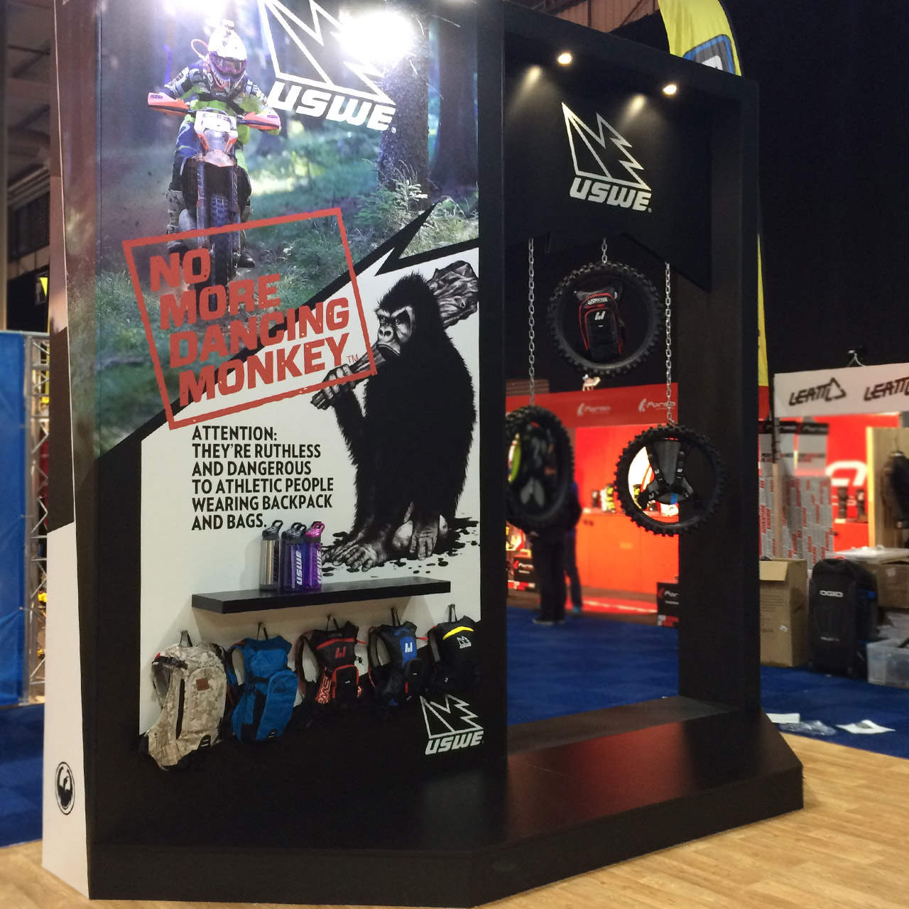 Dirt Bike Show UK - Uswe Stand