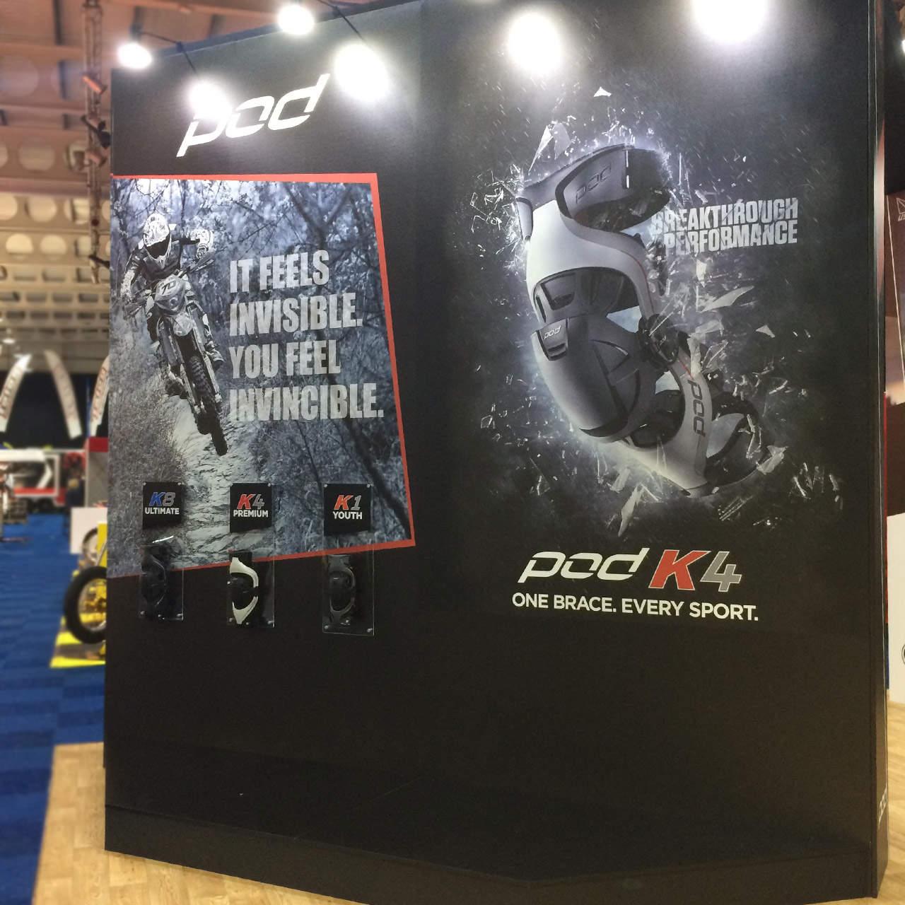 Dirt Bike Show UK - POD stand