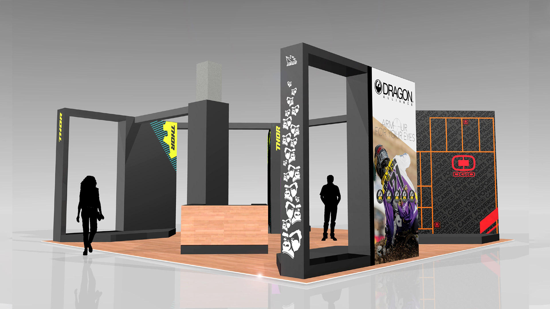 Dirt Bike Show UK - Full MAdison stand render