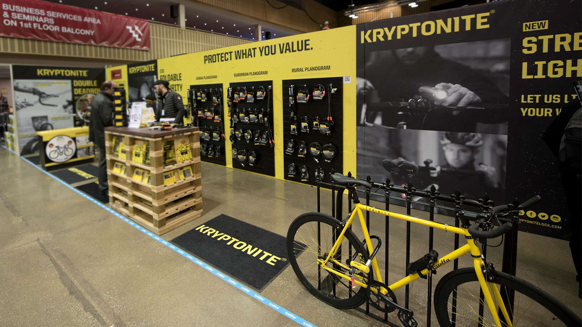 IceBike UK - Kriptonite Stand