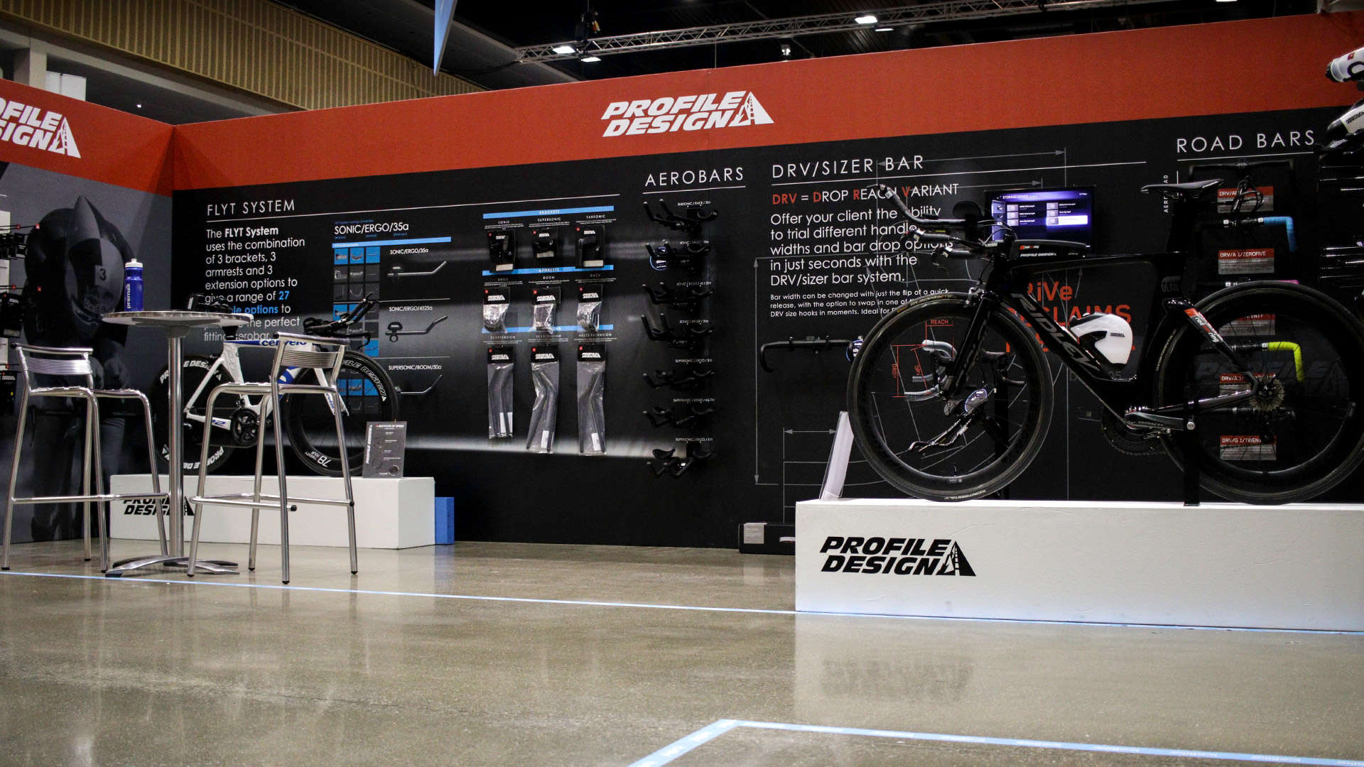 IceBike UK - Profile design Stand