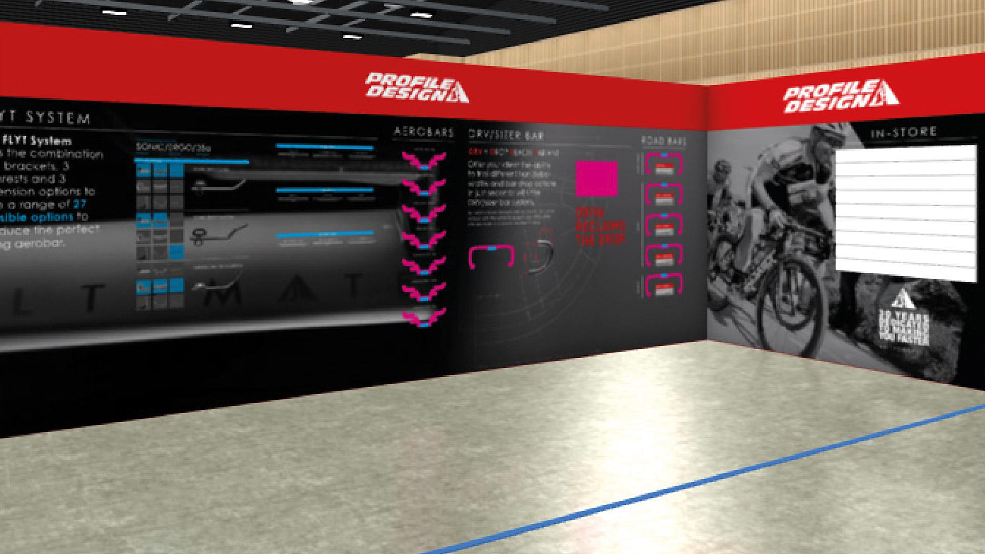 IceBike UK - Profile design Stand render